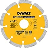 DEWALT DW4713 Industrial 4-1/2-Inch Dry Cutting Segmented Diamond Saw Blade with 5/8-Inch or 7/8-Inch Arbor