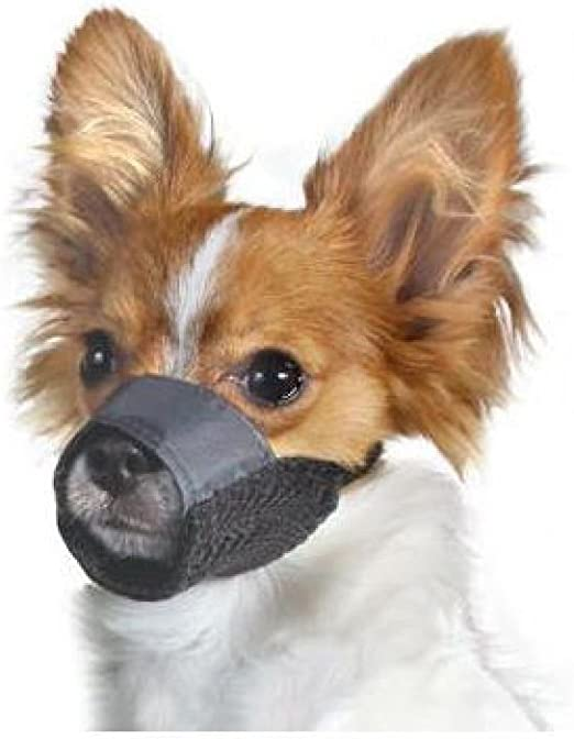 DOG Grooming Training No Bark No Bite Comfort Easy Quick Fit Adjustable MUZZLE