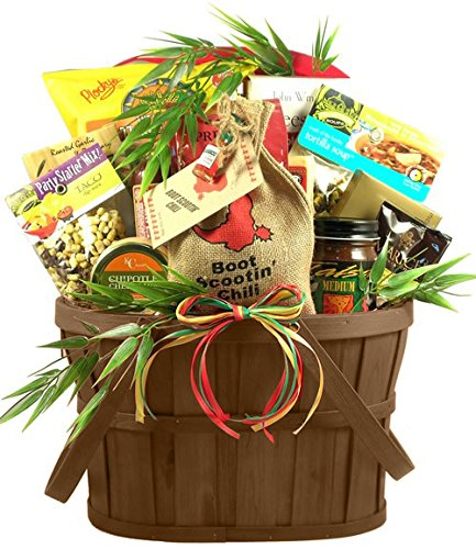 Hot & Spicy Gourmet Food Gift Basket