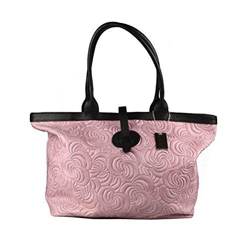 In Conti Of Tuscany PelleXian Rosa Shopper Vera Borsa 0wNmnv8