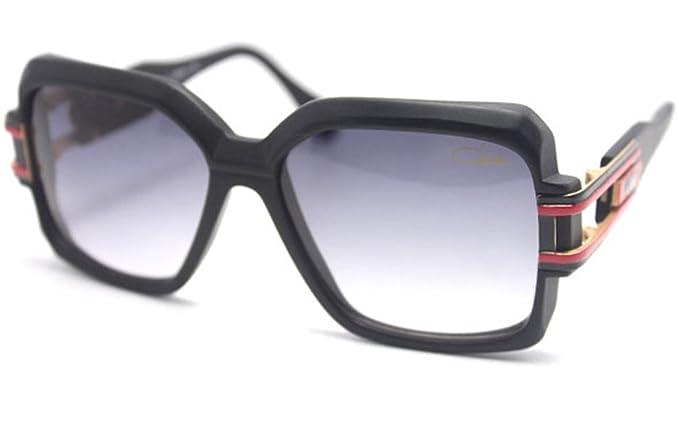 ee9d9b956288 Amazon.com  Cazal 623 302 Col.11 Sunglasses 57mm Matte Black  Clothing