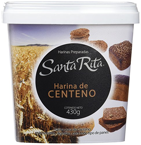 Santa Rita Harina de Centeno - 6 Paquetes de 430 gr - Total: 2580 ...