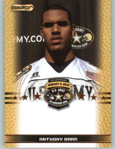 Anthony Barr RBá / UCLA - Loyola High School Torrance CA - 2010 Razor US Army All-American Bowl Promo Football Card (Limited to - Stores Torrance