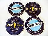 """Blue Moon Beer Coaster Set -""""Established"""