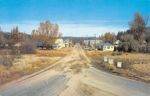 Idaho City Idaho Main Street Scene Historic Bldgs Vintage Postcard K90582