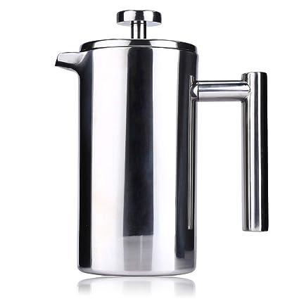 Ffion Cafeteras Portátiles De Café Espresso De 1L, La Mejor Máquina De Olla Aislante De