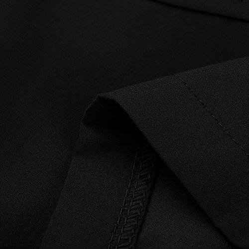 Clearance Sale! Men Pants WEUIE Fashion Men's Cotton Shorts Pants Gym Sport Jogging Trousers Casual(L,Black) by WEUIE Men's Clothing (Image #4)