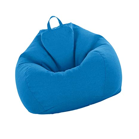 Astonishing Fityle Adult Size Bean Bag Cover Large Beanbag Without Filling Children Stuffed Animal Toys Storage Beanbag Covers Only Sky Blue Camellatalisay Diy Chair Ideas Camellatalisaycom