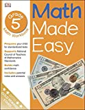 Math Made Easy: Fifth Grade Workbook