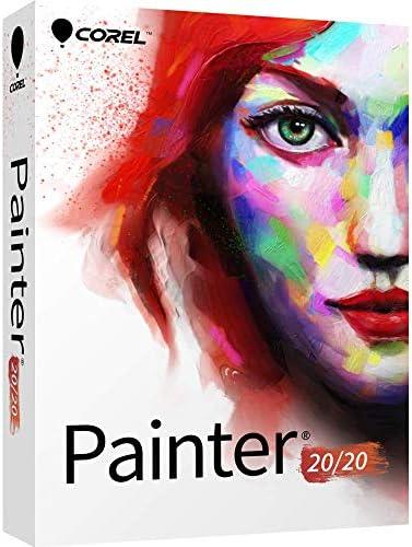 Corel Painter 2020 Digital Art Studio – Upgrade [PC/Mac Disc][Old Version]