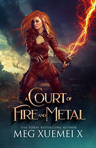 A Court of Fire and Metal: A Paranormal Academy Fantasy (War of the Gods Book 2)