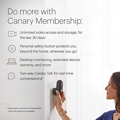 Canary Flex Indoor Outdoor Hd Security Camera