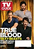 TV Guide July 18/25 2011 Double Issue, True Blood Guy Cast on Cover (Sexy Beasts), Callie Thorn/Necessary Roughness, Entourage Final Season