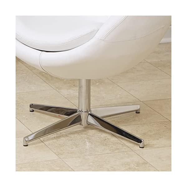 Sphera Modern Design White Accent Chair
