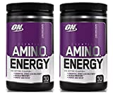 Optimum Nutrition Essential Amino Energy for Focus + Muscle Recovery | 2 Pack Concord Grape Flavor (30 serv Each) (Concord Grape)