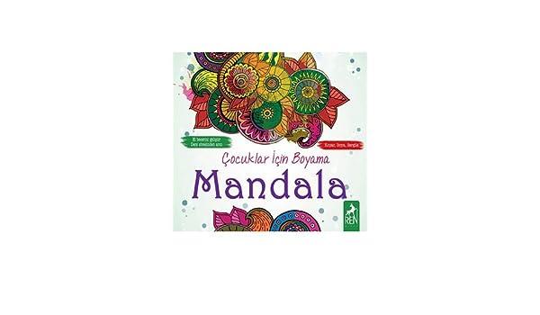 Cocuklar Icin Boyama Mandala Kolektif 9786059840361 Amazoncom
