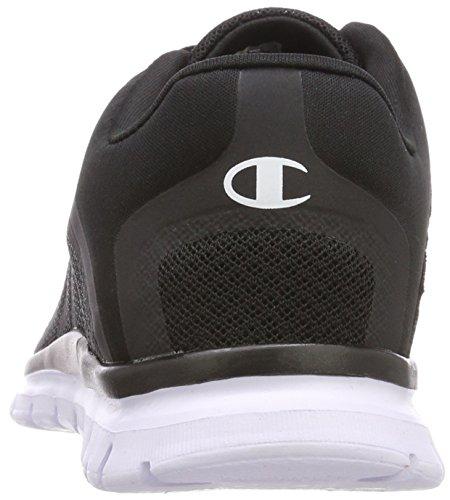 Champion Low White Schwarz Damen Laufschuhe Shoe Alpha Cut Kk006 Black qqng5CwRx