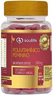 Polivitamínico Feminino 500mg - 60 Cáps - Soulife, Soulife