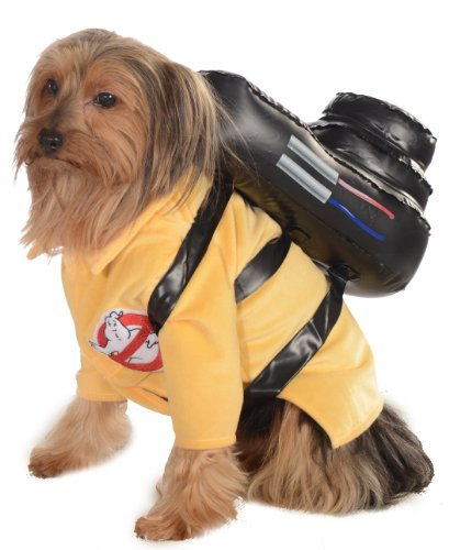 Ghostbusters Movie Pet Costume, X-Large, Ghostbuster Jumpsuit