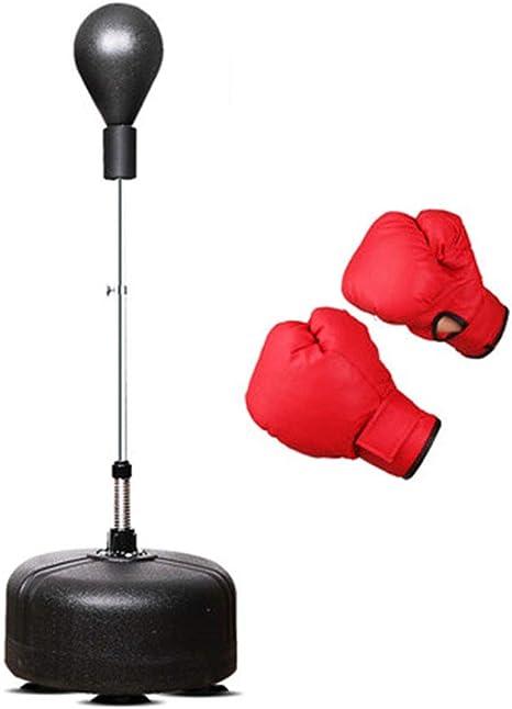 ZLBZBB Bolsa de Boxeo Bola de Velocidad Ajustable con el Soporte ...