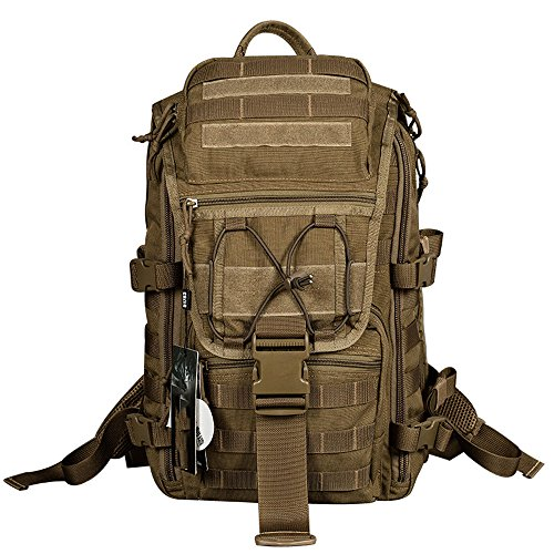 Outdoor Backpack Sports Lightweight Hiking Mountaineering Bag Special Forces Men's Camouflage Knapsack Army Fan Travel Rucksack Infantry Pack (Color : (Infantry Army Pack)