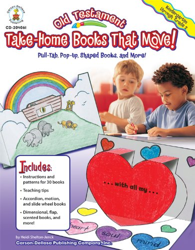 ome Books That Move!, Grades K - 2: Pull-Tab, Pop-Up, Shaped Books, and More! (Testament Take Home Book)