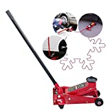 Vinmax 3 Ton Heavy Duty Steel Ultra Low Profile Floor Jack Rapid Pump Show Car Lowrider