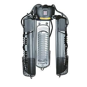 Lacor 69423 - Calentador eléctrico de 3 brazos abatibles, 2000 W