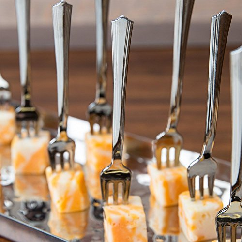 Elegant Petite Mini Tasting Forks 100 Per Pack