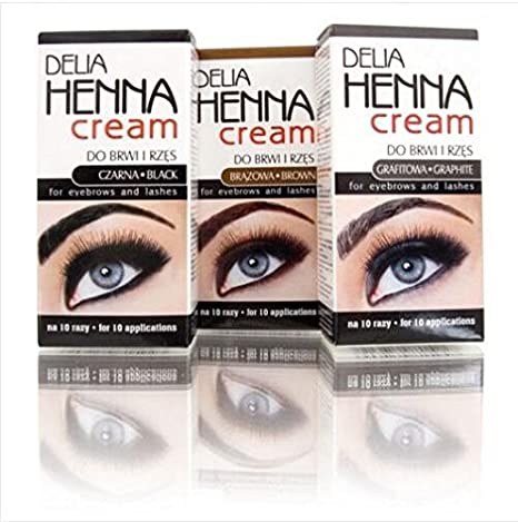 Buy Generic Orange Delia Henna Eyebrows Cream Makeup Eyebrow Tint
