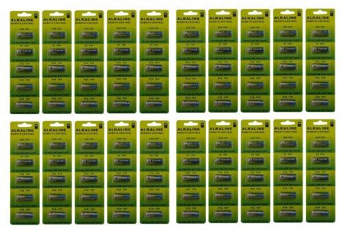 Powertron 23A A23 12V Alkaline Battery (100 Pack)