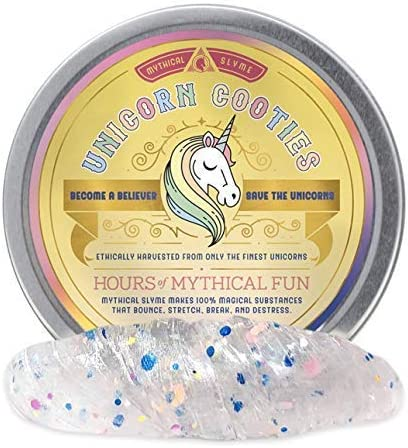Great Unicorn Gift Mythical Slymes Magical Unicorn Slime /& Putty Available in 6 Colors Glitter Slime 1.7oz Clear Slime Barf Color Changing Slime