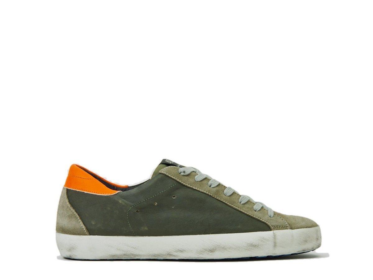 QUATTROBARRADODICI Zapatillas de Goma Para Hombre * 44 EU|verde militar