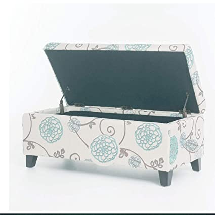 Miraculous Amazon Com Floral Storage Ottoman Large Bench Collapsible Bralicious Painted Fabric Chair Ideas Braliciousco