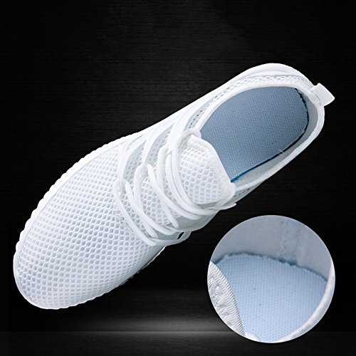 Shoes Summer Slip Non Men's Shoes Fashion Spring White Sports Feifei and Mesh xOpv1B