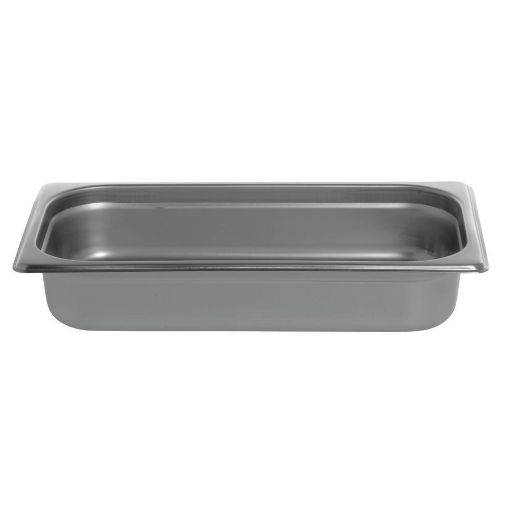 HUBERT Steam Table Pan 1/3 Size 22 Gauge Stainless Steel - 2 1/2''D