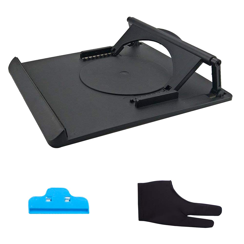Light Box Pad Holder Rotate Stander for Huion A2 A3 A4 LB4 L4S Light Table Gunsamg AD16000