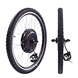 Sandinrayli 26' Front Wheel 36V 500W Electric Powered Bicycle Motor Cycling Conversion Kit