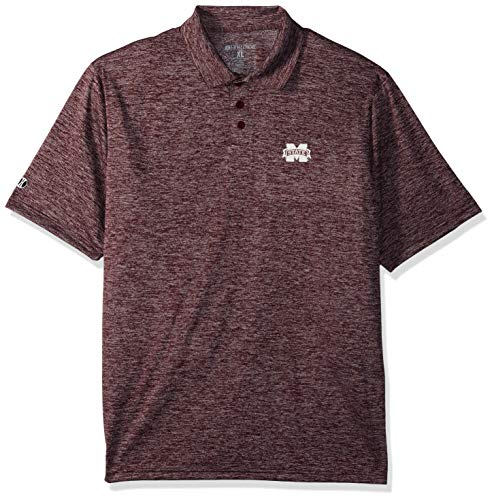 NCAA Mississippi State Bulldogs Adult Men Holloway Electrify 2.0 Polo  Large