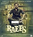 Raees Hindi CD - Shahrukh Khan Bollywood latest