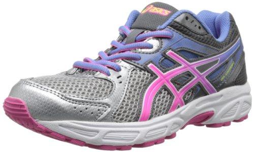 ASICS Women's Gel-Contend 2 Running Shoe,Lightning/Hot Pink/Periwinkle Blue,10.5 M US