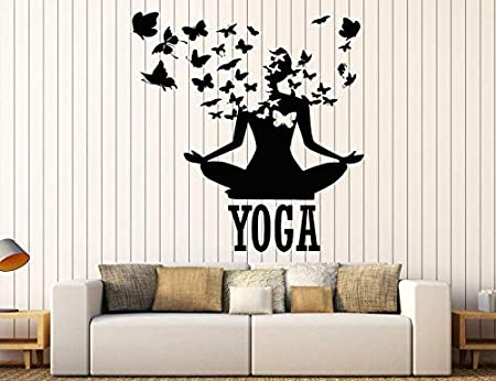hanmuchen Creative Home Decoration Yoga Posture Butterfly ...