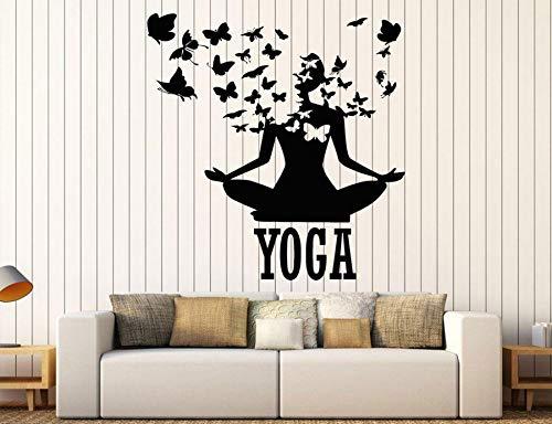 ONETOTOP Decoración casera Creativa Yoga Postura Mariposa ...