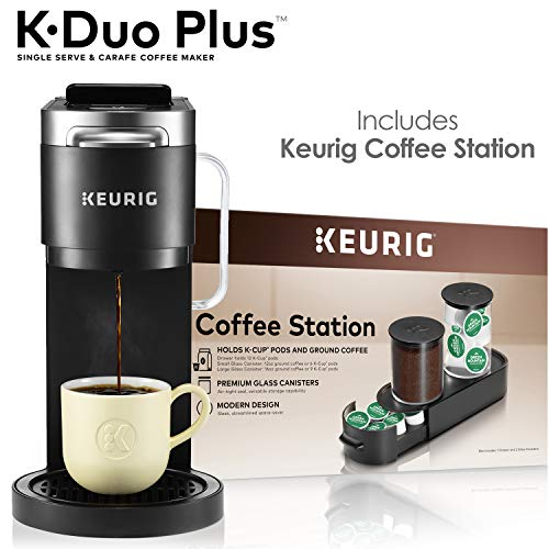 Keurig K Duo Plus Station Storage