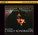 #3: Martha Argerich: Rachmaninoff & Tchaikovsky Concertos (K2HD Master)