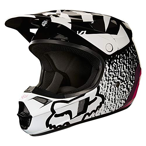 2018 Fox Racing Youth Girls V1 Halyn - Black Girl Helmet