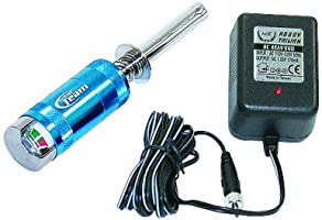 Team Associated 1738 Factory Team Glow Starter Blue with Charger