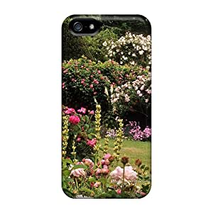 Top Quality Protection Roses Garden Case Cover For Iphone 5/5s