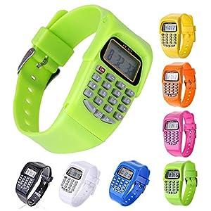 Reloj calculadora digital VANKER con luz LED