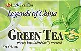 Legends of China Original Green Tea Uncle Lee's 100 Bag Review